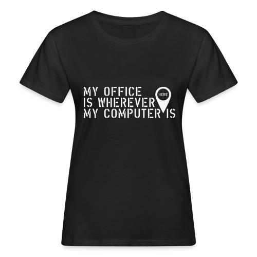 Wherever - Camiseta ecológica mujer