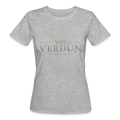 New Verdun Official Logo - Vrouwen Bio-T-shirt