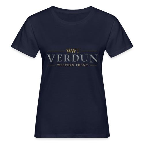 New Verdun Official Logo - Vrouwen Bio-T-shirt