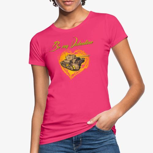 Glowing Valentine Heart - Frauen Bio-T-Shirt