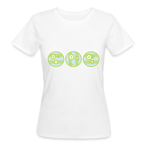 Smile multi4 - Vrouwen Bio-T-shirt