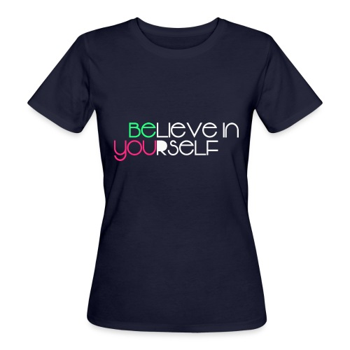 be you - T-shirt ecologica da donna