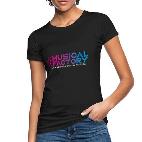 Musical Factory Sign - T-shirt ecologica da donna