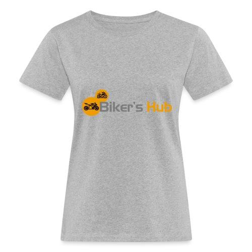 Biker's Hub Small Logo - Women's Organic T-Shirt