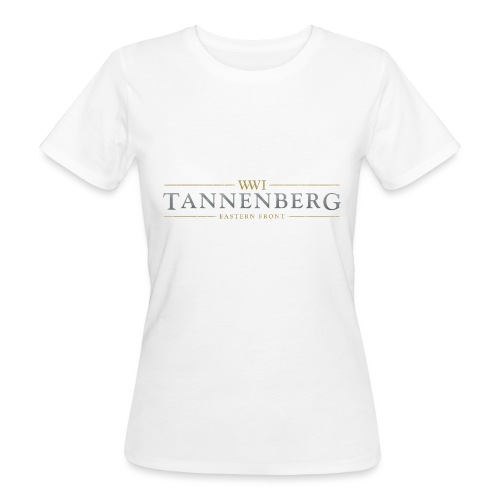 New Tannenberg Official Logo - Vrouwen Bio-T-shirt