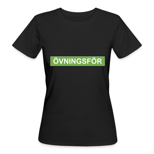ÖVNINGSFÖR - Ekologisk T-shirt dam
