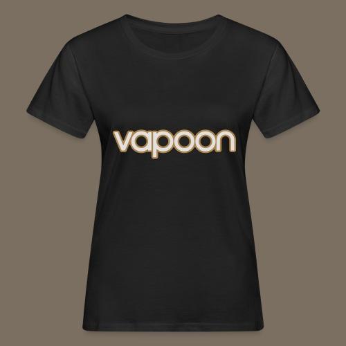 Vapoon Logo simpel 2 Farb - Frauen Bio-T-Shirt