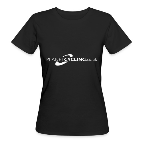 Planet Cycling Web Logo - Women's Organic T-Shirt