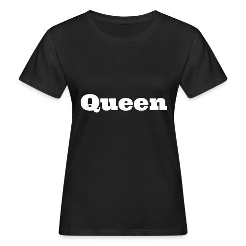 Snapback queen zwart/rood - Vrouwen Bio-T-shirt