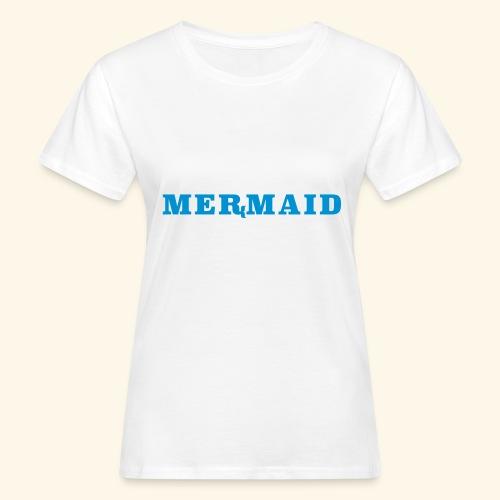 Mermaid logo - Ekologisk T-shirt dam