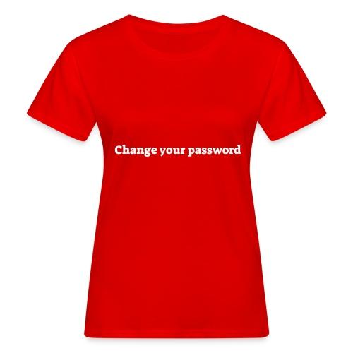 Change your password - Organic damer