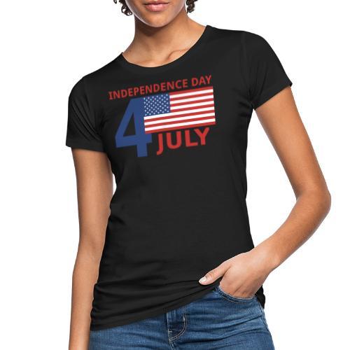 4 luglio giorno della indipendenza - T-shirt ecologica da donna