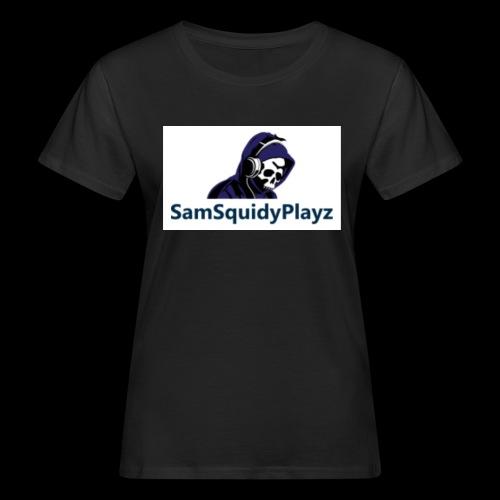 SamSquidyplayz skeleton - Women's Organic T-Shirt