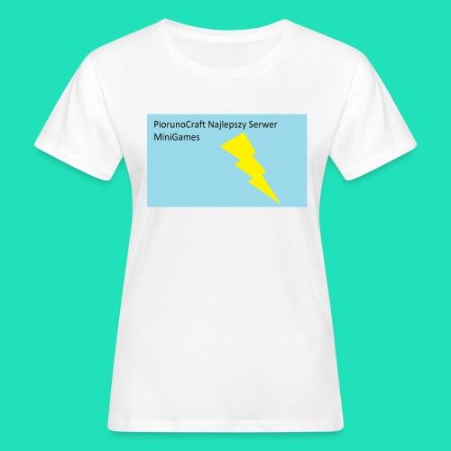 Koszulka Dla Dzieci PiorunoCraft - Ekologiczna koszulka damska