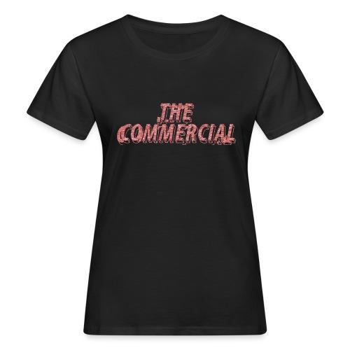 The Commercial #2 (Salmon Long Strokes) - Women's Organic T-Shirt