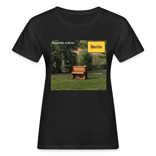 lonely Piano - Frauen Bio-T-Shirt
