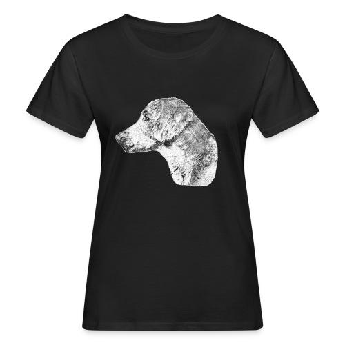 Langhaar Weimaraner - Frauen Bio-T-Shirt