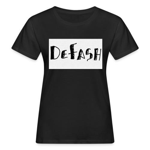 Defash1-png - T-shirt bio Femme