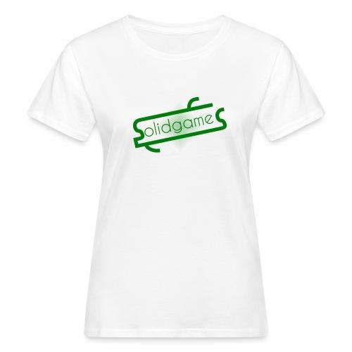 Solidgames Crewneck Grey - Women's Organic T-Shirt