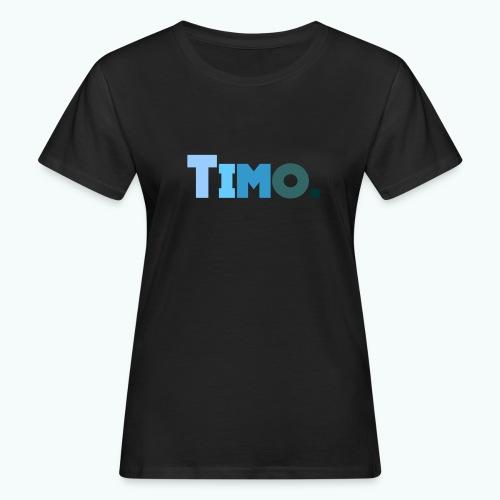 Timo in blauwe tinten - Vrouwen Bio-T-shirt