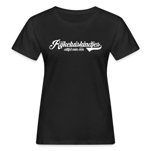Rijkeluiskindjes, altijd min één - Vrouwen Bio-T-shirt