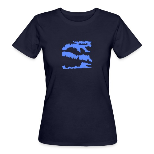 Blue_Sample.png - Frauen Bio-T-Shirt