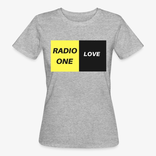 RADIO ONE LOVE - T-shirt bio Femme