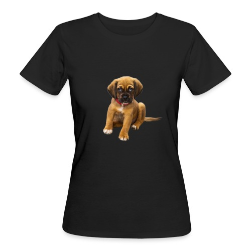 Süsses Haustier Welpe - Frauen Bio-T-Shirt