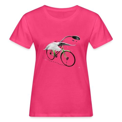 Ninho Bycicle - T-shirt ecologica da donna