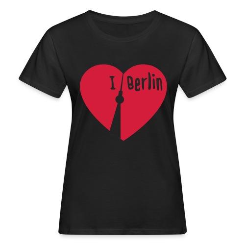 I love Berlin (1-farbig) - Frauen Bio-T-Shirt