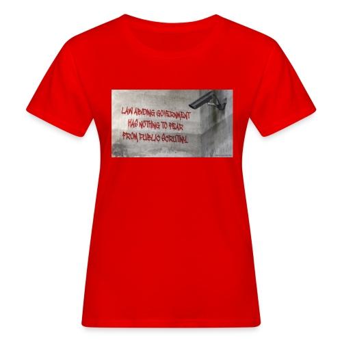 Nothing to Fear - Women's Organic T-Shirt
