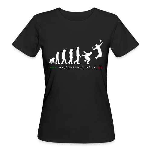 evolution volley attack w new - T-shirt ecologica da donna