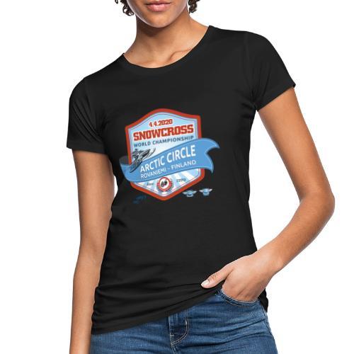 MM Snowcross 2020 virallinen fanituote - Naisten luonnonmukainen t-paita