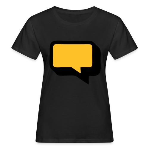 Sprechblase 3D 2c - Frauen Bio-T-Shirt