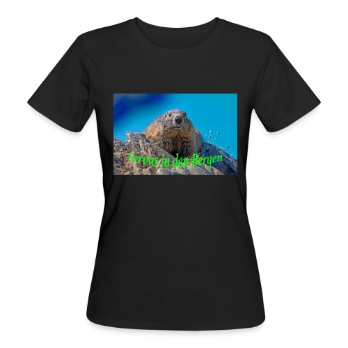 Servus in den Bergen - Frauen Bio-T-Shirt