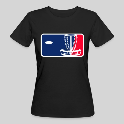 Major League Frisbeegolf - Naisten luonnonmukainen t-paita