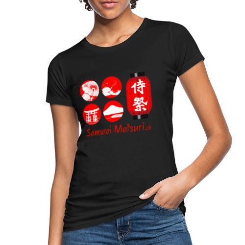 Samurai Matsuri Festival - Frauen Bio-T-Shirt
