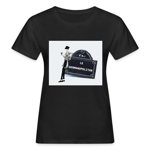Sac Le Germanopolitan - T-shirt bio Femme