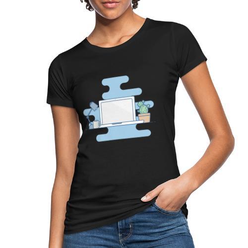 Arbeitstisch - Frauen Bio-T-Shirt