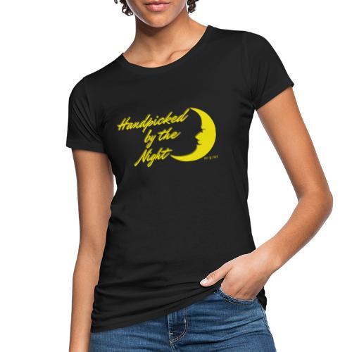 Handpicked design By The Night - Logo Yellow - Women's Organic T-Shirt