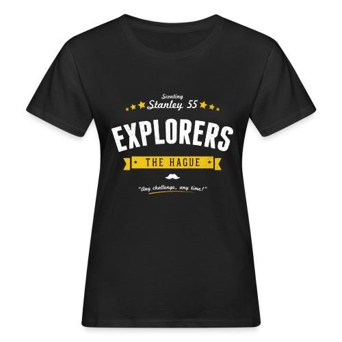 Explorershirt - Vrouwen Bio-T-shirt