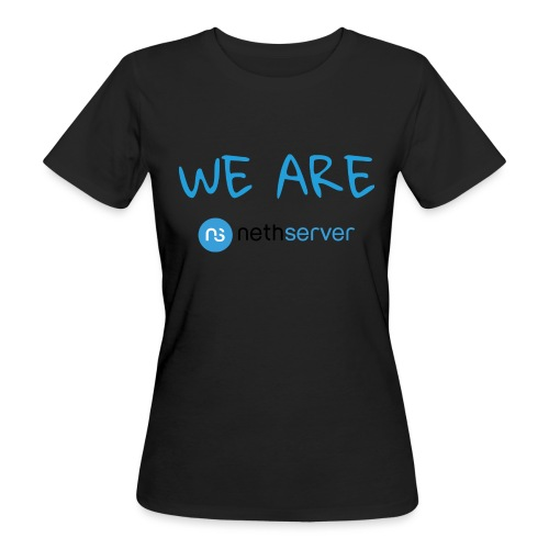 blue-black-rectangle - Women's Organic T-Shirt