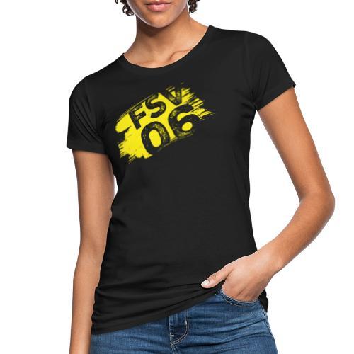 Hildburghausen FSV 06 Graffiti gelb - Frauen Bio-T-Shirt