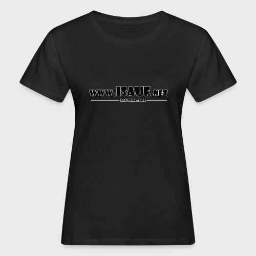 iSauf Logo 3 - Frauen Bio-T-Shirt