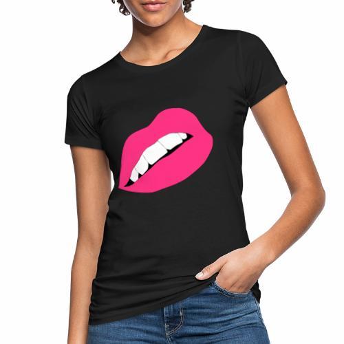 Usta - Ekologiczna koszulka damska