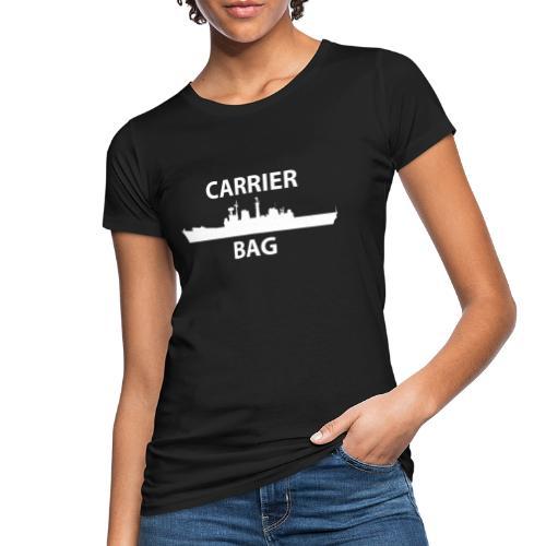 carrier bag white - Women's Organic T-Shirt