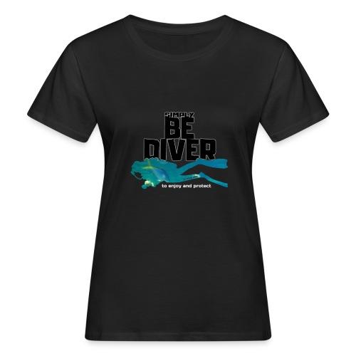 Be Diver 2 - Soutien à Sea Shepherd France - T-shirt bio Femme