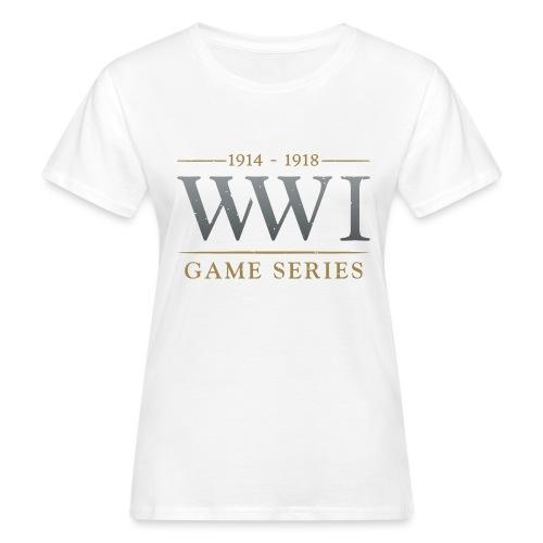 WW1 Game Series Logo - Vrouwen Bio-T-shirt