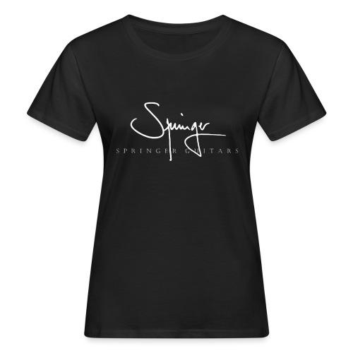 Logo Springer Guitars - T-shirt bio Femme