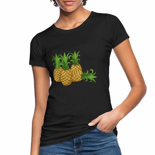 Ananas - Frauen Bio-T-Shirt